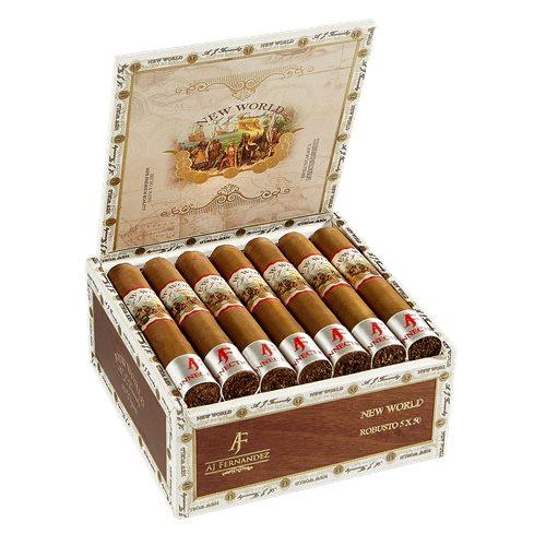 New World Connecticut by AJ Fernandez Robusto Cigars 20Ct. Box