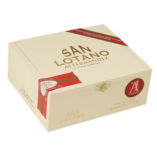 AJ Fernandez San Lotano Oval Maduro Robusto Cigars 20Ct. Box