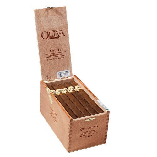 Oliva Serie G Cameroon Churchill Cigars 25Ct.Box-Press