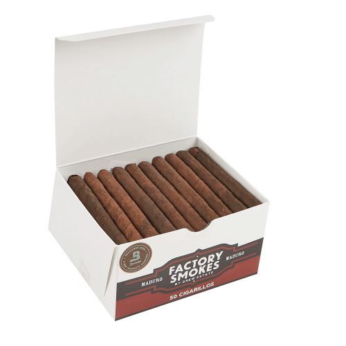 Factory Smokes Cigars Maduro Cigarillos  25. Ct Bundle