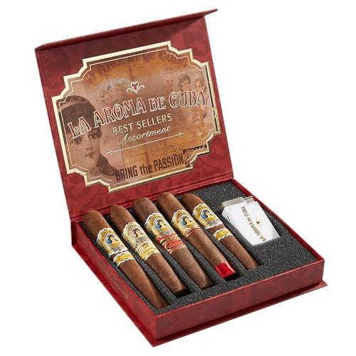 La Aroma de Cuba Best Sellers Assortment Cigars 5Ct. Box