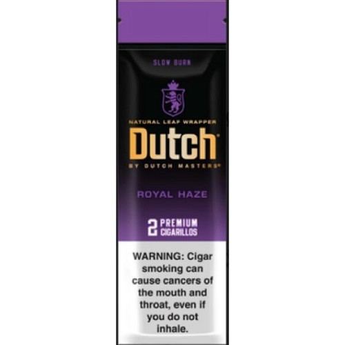 Dutch Masters Cigarillos Foil Royal Haze 30 Pouches of 2