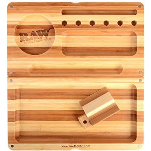 Raw Backflip Bamboo Rolling Tray