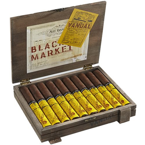 Alec Bradley Black Market Vandal Belicoso Cigars 10Ct. Box