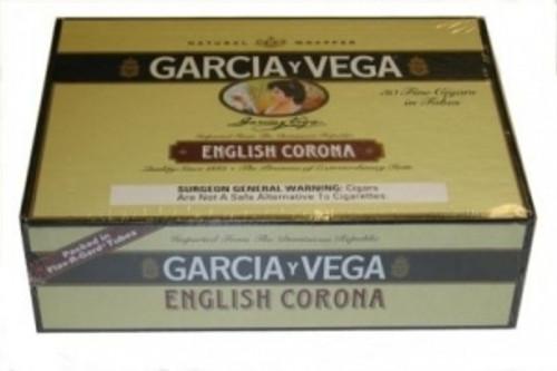 Garcia Y Vega English Corona Cigars Box