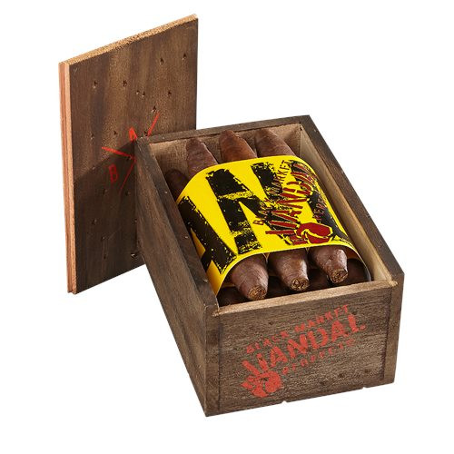Alec Bradley Black Market Vandal Perfecto Cigars 10Ct. Box