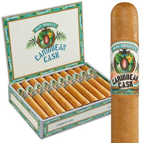 Alec Bradley Caribbean Cask Robusto Cigars 20Ct. Box