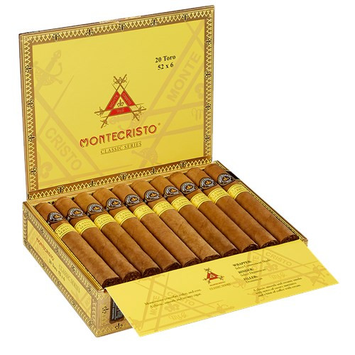 Montecristo Classic Series Cigars Toro 20Ct. Box