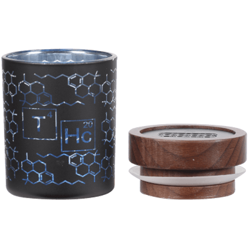 """V Syndicate Smartstash THC Elemental Blue Small 3.5"""" Container"""