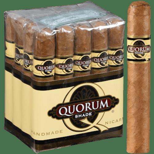 Quorum Shade Robusto Cigars 20 Ct. Bundle