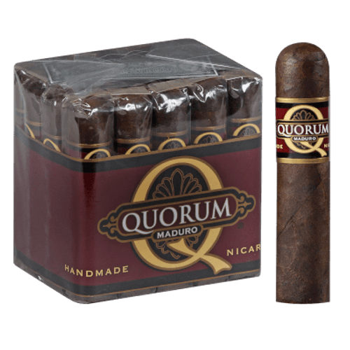 Quorum Maduro Short Robusto Cigars 20 Ct. Bundle