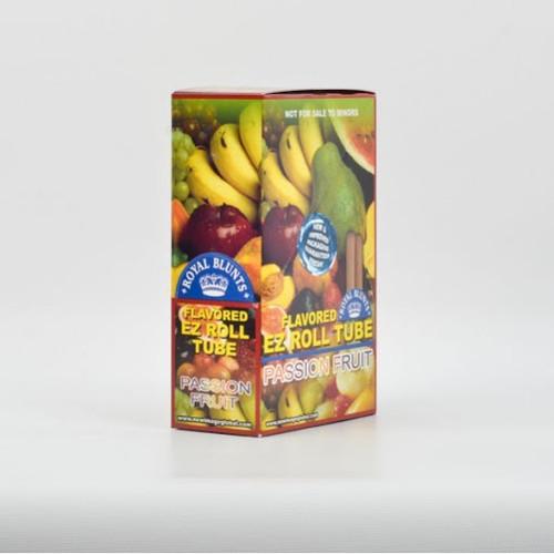Royal Blunts EZ Roll Wraps Tubes Passion Fruit  25Ct