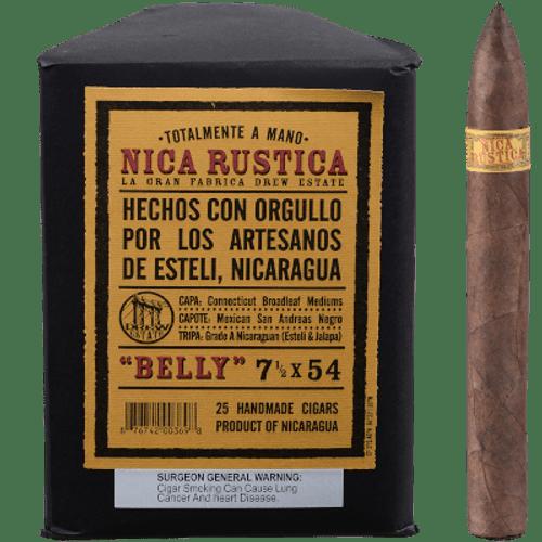 Nica Rustica Belly Cigars 25 Ct. Bundle