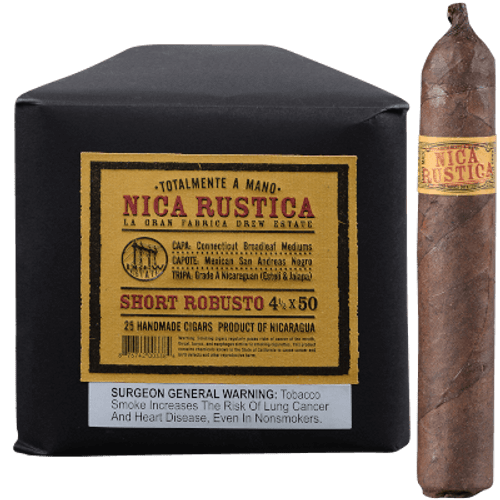 Nica Rustica Short Robusto Cigars 25 Ct Bundle