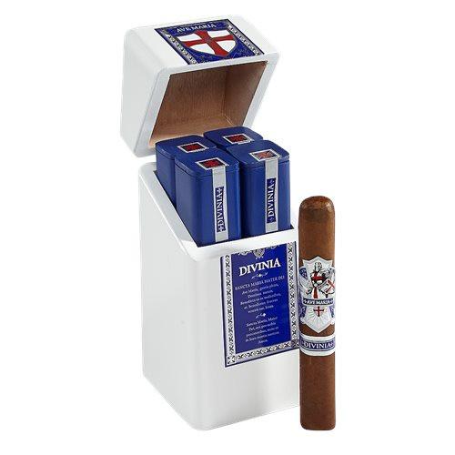 Ave Maria Divinia Cigars Tubo 4Ct. Box-Pressed