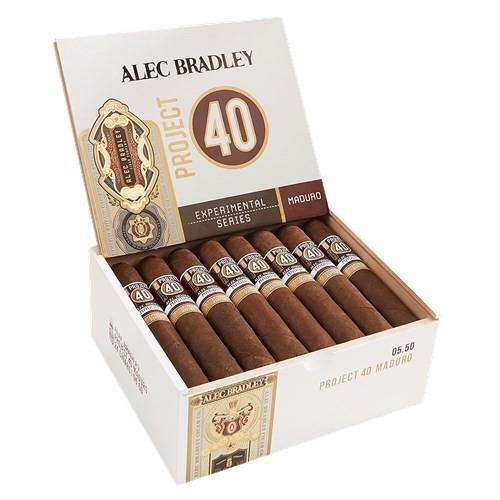 Alec Bradley Project 40 Maduro Cigars Robusto 24Ct. Box
