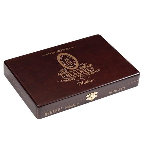 Alec Bradley Reserve Maduro Robusto Cigars 10Ct. Box