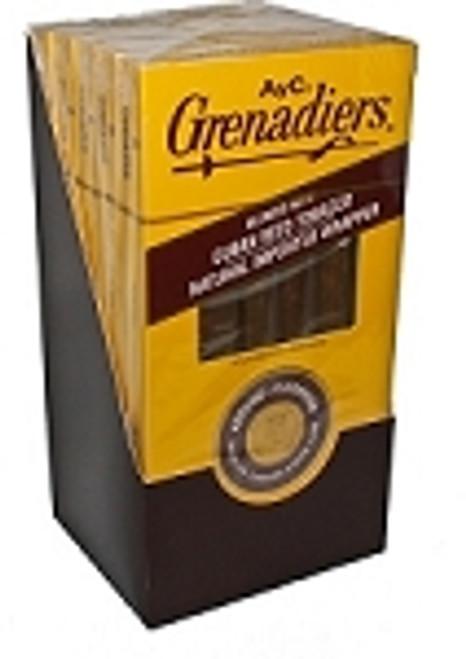 AYC Grenadiers Natural Dark Pack Cigars
