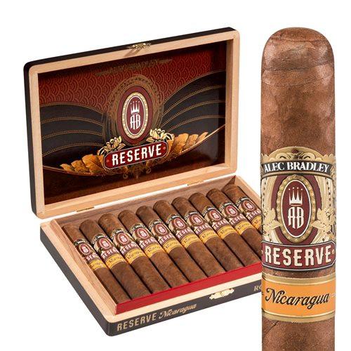Alec Bradley Reserve Nicaraguan Robusto Cigars 10Ct. Box