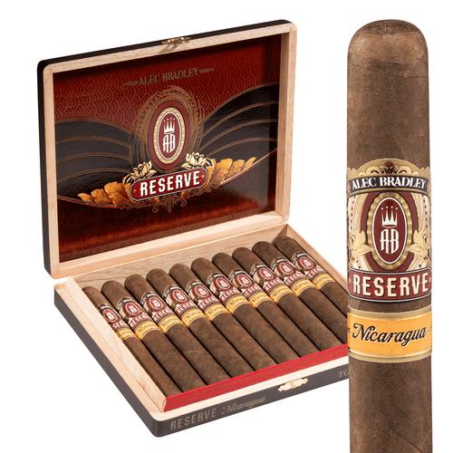 Alec Bradley Reserve Nicaraguan Toro Cigars 10Ct. Box