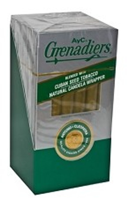 AYC Grenadiers Natural Light Pack Cigars