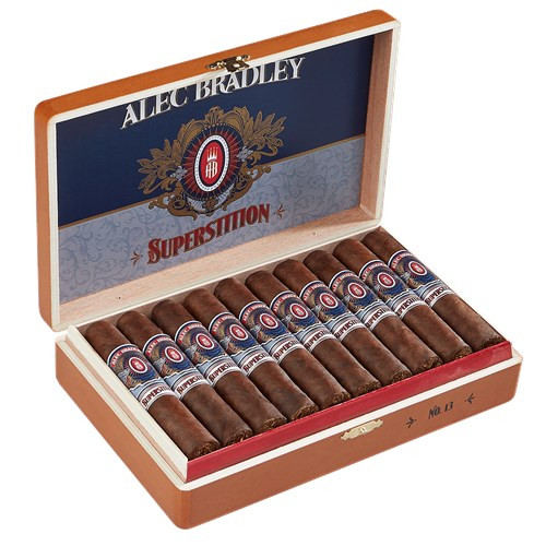 Alec Bradley Superstition No. 13 Cigars 20Ct. Box