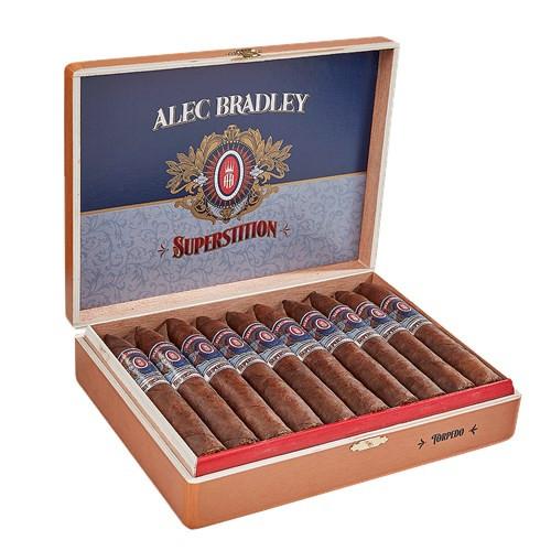 Alec Bradley Superstition Torpedo Cigars 20Ct. Box