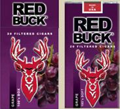 Red Buck Filtered Cigars Grape
