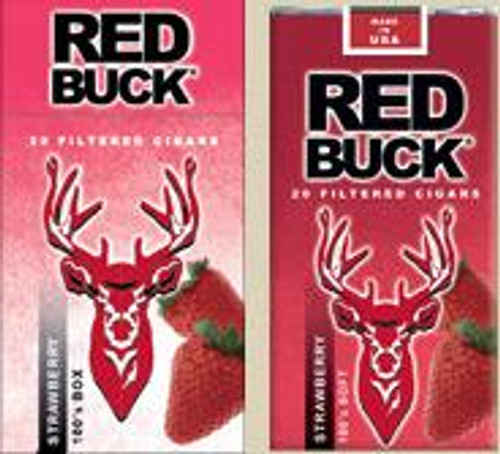 Red Buck Filtered Cigars Strawberry