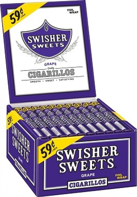 Swisher Sweets Cigarillos Grape Promo Box