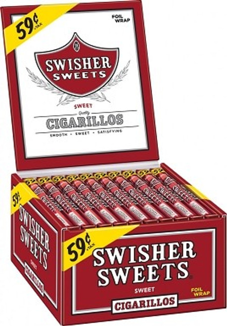 Swisher Sweets Cigarillos Sweet Promo Box