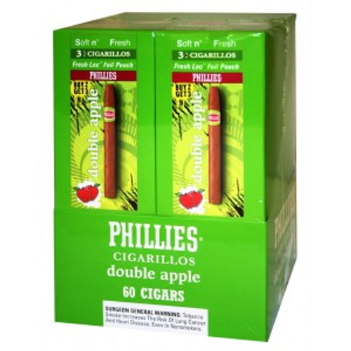 Phillies Cigarillos Double Apple FoilFresh 20/3