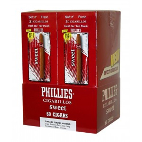 Phillies Cigarillos Sweet FoilFresh 20/3