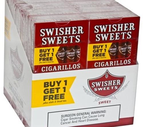 Swisher Sweets Cigarillos Regular Pack B1G1
