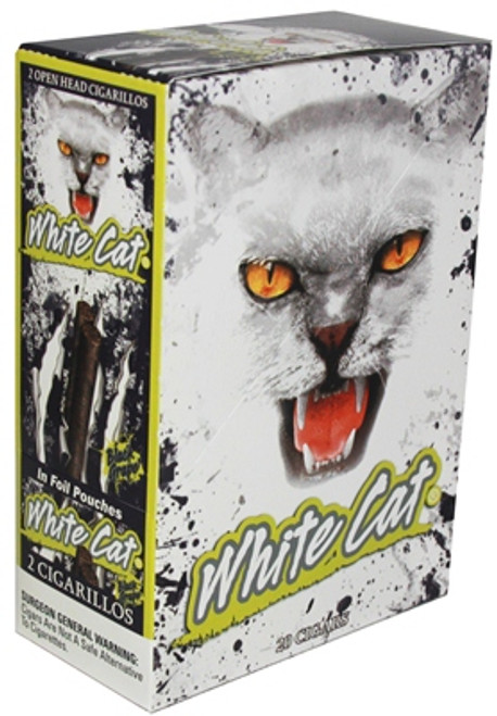 White Cat Cigarillos Black Grape 2PK