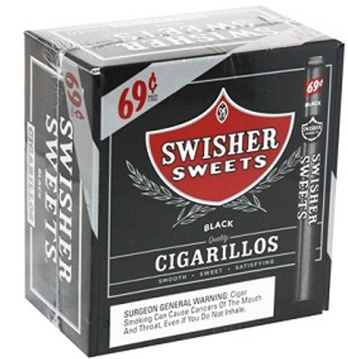 Swisher Sweets Cigarillos Black Promo Box