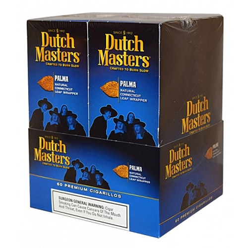 Dutch Masters Cigarillos Palma Foil 20 Pouches of 3