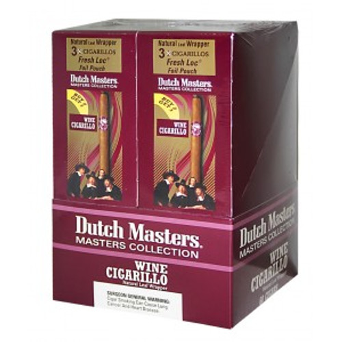 Dutch Masters Cigarillos Palma Wine Foil 20 Pouches of 3