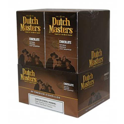 Dutch Masters Cigarillos Palma Chocolate Foil 20 Pouches of 3