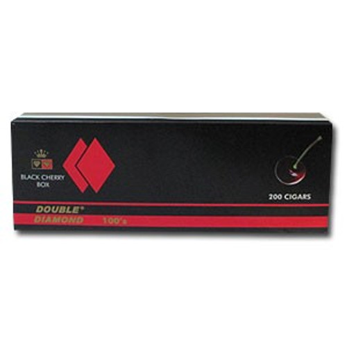 Double Diamond Filtered Cigars Black Cherry