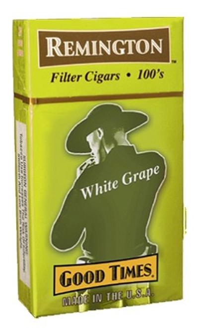 Remington Filtered Cigars White Grape