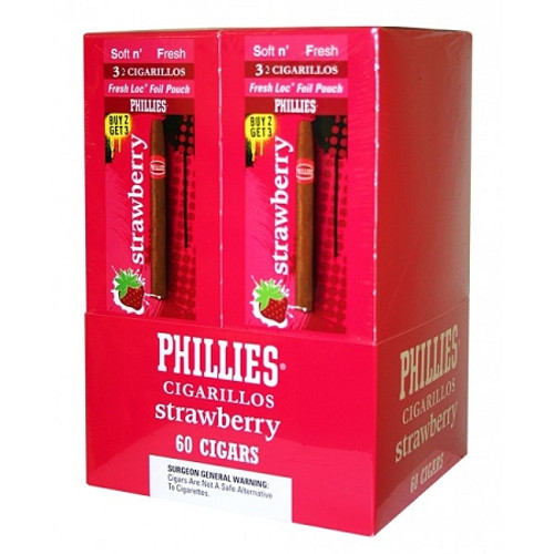 Phillies Cigarillos Strawberry FoilFresh