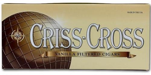 Criss Cross Filtered Cigars Vanilla