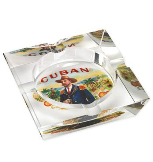 Lotus Cuban Vista Collection Ashtray - Cuban