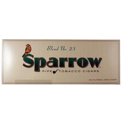 Sparrow Filtered Cigars Blend No 23 Menthol