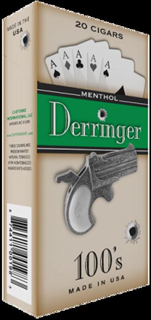 Derringer Filtered Cigars Menthol