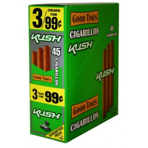 Good Times Cigarillos Kush Pouch 15 Pouches of 3