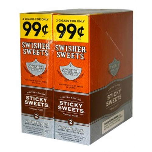 Swisher Sweets Cigarillos Foil Sticky Sweets 30 Pouches of 2