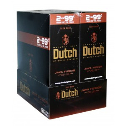 Dutch Masters Cigarillos Foil Java Fusion 30 Pouches of 2