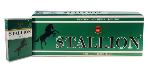 Stallion Filtered Cigars Menthol
